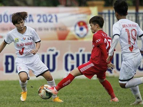 Hà Nội I Watabe giành vé vào chung kết Giải bóng đá nữ Cúp quốc gia 2021