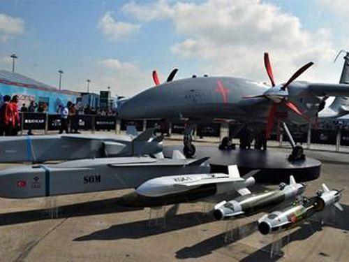 Bom thông minh MAM-T: Vũ khí mới cho máy bay không người lái Thổ Nhĩ Kỳ