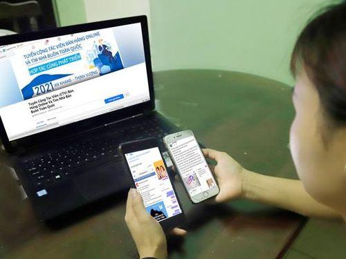 Cảnh giác chiêu lừa 'tuyển người bán hàng trực tuyến'