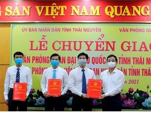 Thái Nguyên chuyển giao Văn phòng Đoàn ĐBQH tỉnh về UBND tỉnh