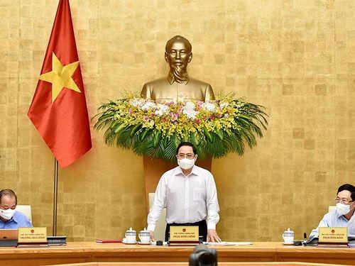 Thủ tướng Phạm Minh Chính chủ trì phiên họp Chính phủ thường kỳ tháng 4-2021