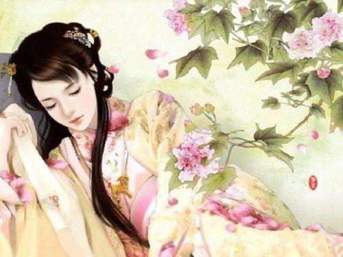 Hoa trong Cung oán ngâm khúc của Nguyễn Gia Thiều
