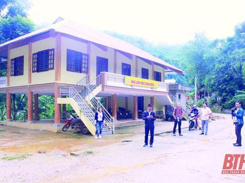 Xây dựng văn hóa cơ sở trên địa bàn huyện Quan Hóa