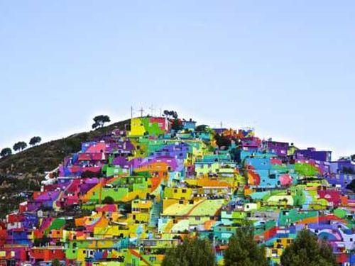 Chiêm ngưỡng vẻ đẹp rực rỡ của những thành phố màu mè nhất thế giới