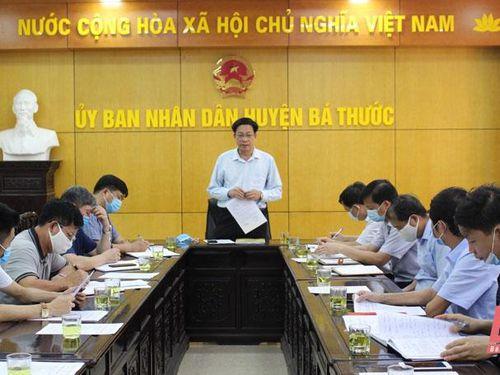 Kiểm tra công tác chuẩn bị bầu cử tại huyện Bá Thước