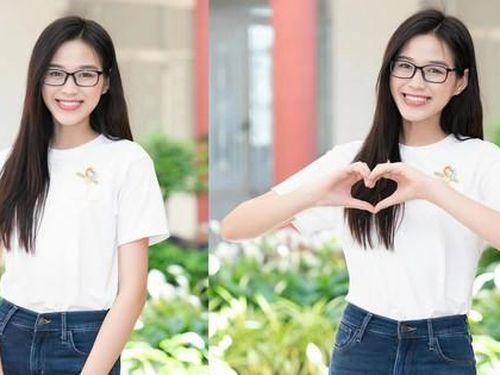 Hoa hậu Đỗ Thị Hà: 'Cả nước đồng lòng thì chúng ta nhất định sẽ chiến thắng đại dịch'