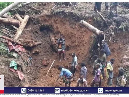 Sập các mỏ khai thác ở Guinea và Ấn Độ