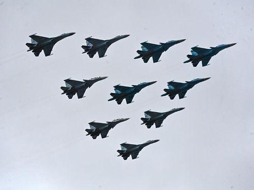 Xem dàn chiến cơ Nga 'tỏa sáng' trong lễ duyệt binh 9-5