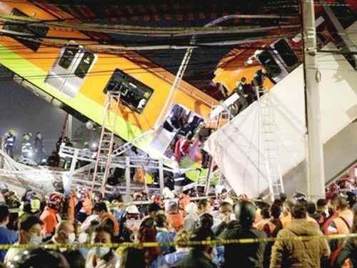 Mexico bồi thường cho gia đình các nạn nhân vụ tai nạn tàu điện