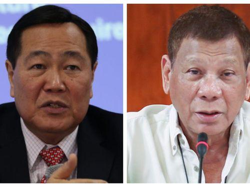 Ông Duterte rút khỏi tranh luận Biển Đông với cựu thẩm phán