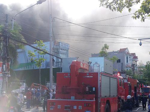 Cháy quán bar Gossip ở Cà Mau