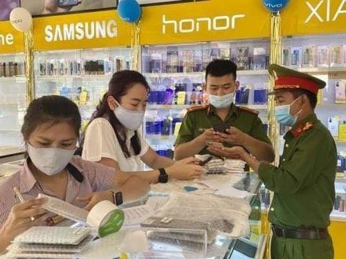 Quảng Bình: Phát hiện, thu giữ lô điện thoại không rõ nguồn gốc