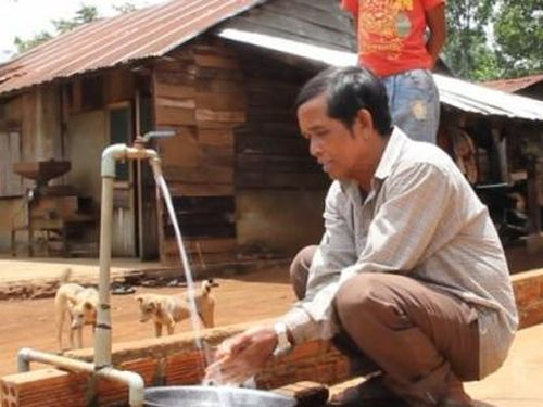 Người dân nông thôn Đăk Lăk không lo thiếu nước sạch