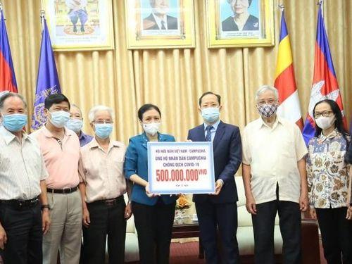 Hỗ trợ nhân dân Campuchia ngăn chặn đại dịch Covid-19