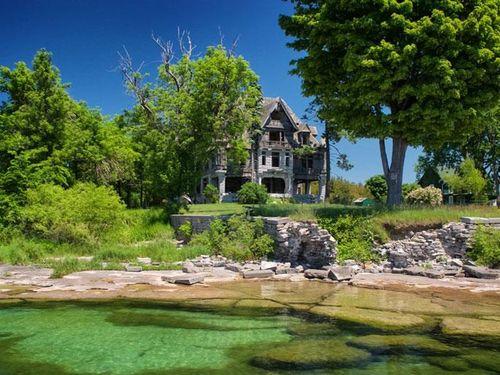 Top 10 biệt thự bỏ hoang trên thế giới từng có giá hàng triệu đô