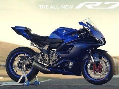 Yamaha YZF-R7 2021 bị lộ ảnh trước ngày ra mắt