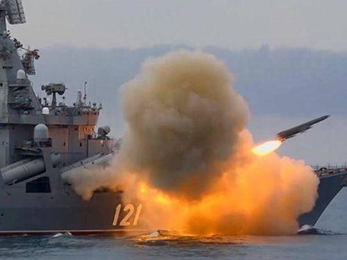 Báo Trung Quốc tiết lộ vụ tàu Mỹ 'chạy thoát khỏi' tàu tuần dương Moscow