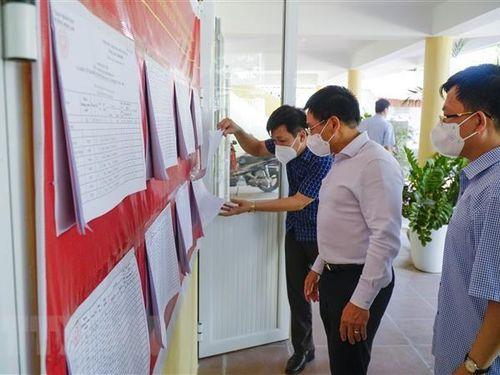 Điện Biện, Ninh Bình bảo đảm an toàn phòng dịch cho Ngày hội bầu cử
