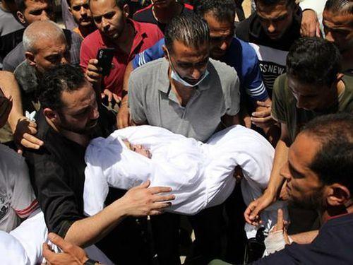 Tổng số thương vong và thiệt hại tài sản sau một tuần giao tranh ở Gaza