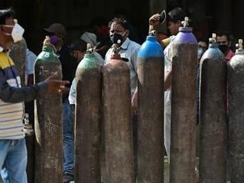 Oxy chợ 'đen' ở Ấn Độ