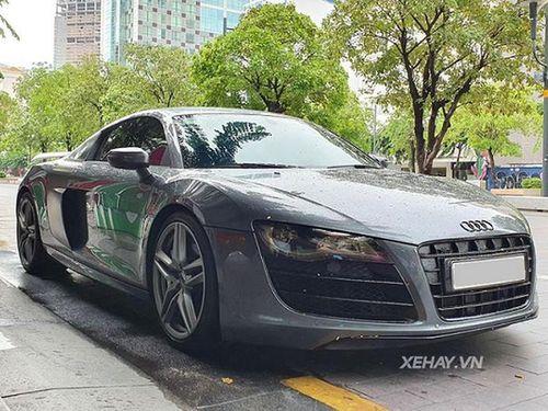 Siêu xe Audi R8 V10 Coupe độc nhất Việt Nam tái xuất ở Sài Gòn