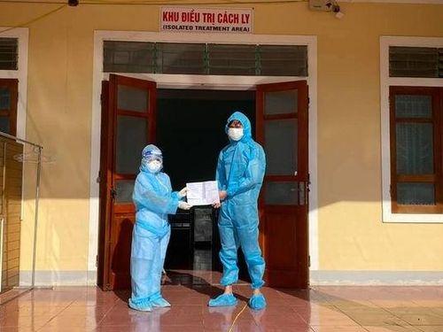 Nghệ An nhiều bệnh nhân COVID-19 được ra viện