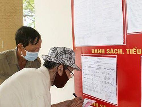Tỷ lệ cử tri Khánh Hòa bỏ phiếu đại biểu Quốc hội và HĐND các cấp đạt 99,56%