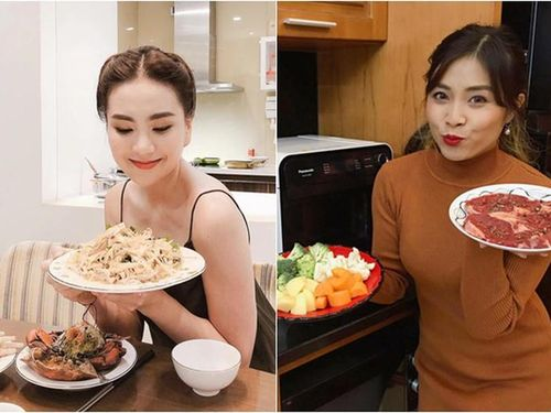 'Xả vai' vào bếp dàn MC xinh đẹp nấu ăn nhìn mà thèm