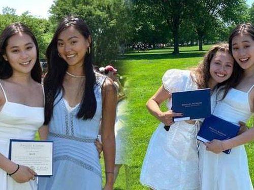 Ái nữ của Lý Liên Kiệt tốt nghiệp cấp ba, thân hình phổng phao 'ăn đứt' chị gái