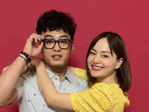 Hồng Đăng ngại ngùng với Lan Phương trong phim mới, Hồng Diễm ngay lập tức 'bóc mẽ'
