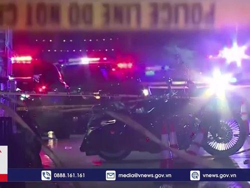 Lại nổ súng tại Mỹ khiến nhiều người bị thương
