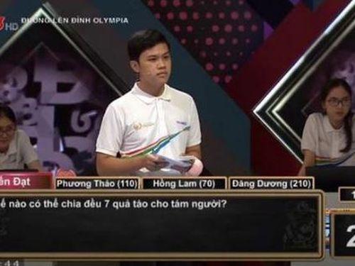 Câu hỏi Olympia dễ nhưng khiến thí sinh không trả lời được: Thử xem bạn có bị đánh lừa trong 15s không nhé?