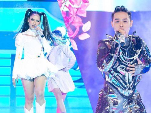 Cara hóa thành Thủy Thủ Mặt Trăng, Thanh Duy diện bodysuit tỏa sáng trên sân khấu The Heroes