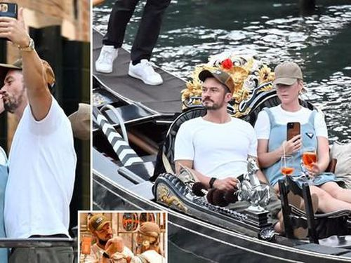 Hôn đắm đuối Katy Perry trên phố, Orlando Bloom không quên 'sống ảo'