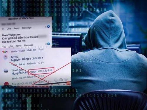 'Sờ gáy' nhóm hacker tấn công Báo điện tử VOV
