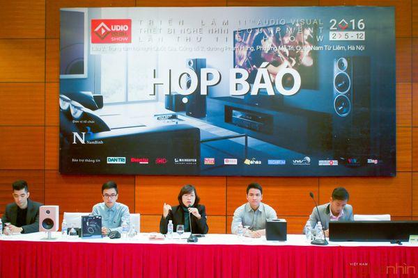 Ngày 2/12 AV Show Hà Nội 2016 khai mạc tại TTHNQG