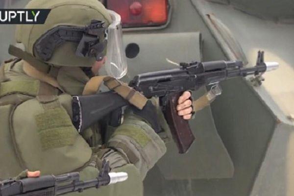 Lính công binh Nga chiến đấu thiện nghệ như đặc nhiệm