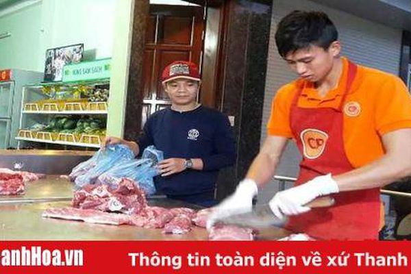 Thanh Hóa: Người tiêu dùng không còn quay lưng với thịt lợn