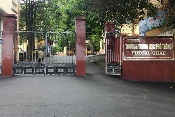 Bộ GD&ĐT yêu cầu xác minh thông tin liên quan đến nam sinh lớp 10 ở Phú Thọ