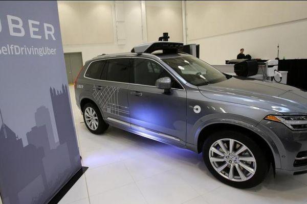 Uber ra mắt xe tự lái Volvo thế hệ mới