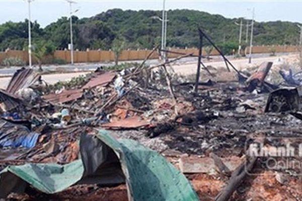Cháy nổ ở sân golf Cam Ranh, 2 người chết