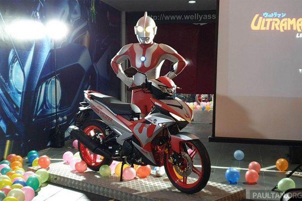 Xe máy Yamaha Exciter 150 2019 bản Ultraman ra mắt, giá từ 69 triệu đồng
