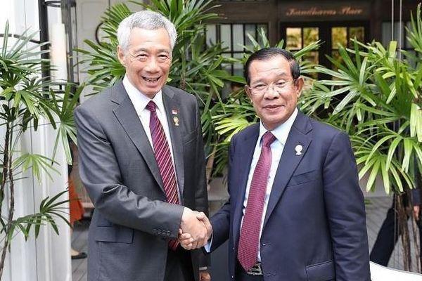 Ông Lý Hiển Long và ông Hun Sen đồng ý không xát muối 'vết thương cũ'