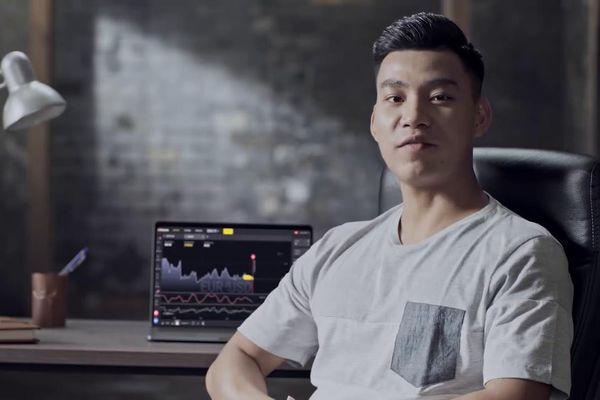 Văn Thanh U23 Việt Nam, Khá Bảnh quảng cáo cho cá cược Binomo