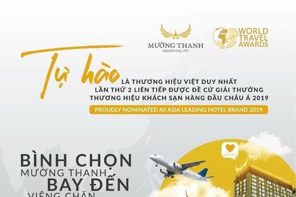 Mường Thanh: 'Thương hiệu khách sạn hàng đầu châu Á 2019'