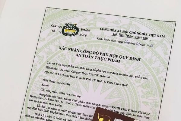 Vụ giảm cân DIET VIP nghi dùng giấy tờ giả: Sở Y tế Thừa Thiên Huế vào cuộc