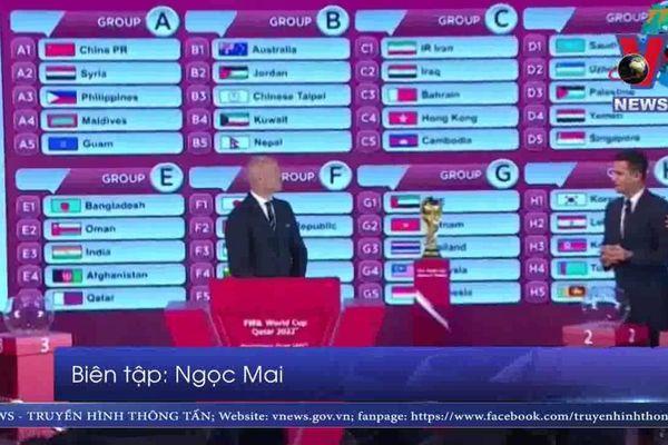 Lễ bốc thăm vòng loại World Cup 2022