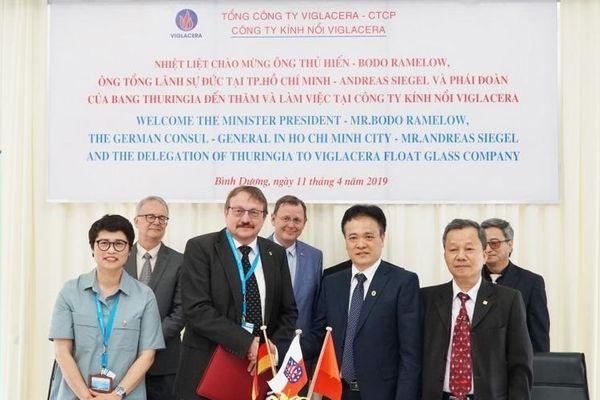 TCty Viglacera - CTCP: Chủ động hợp tác quốc tế trong lĩnh vực xây dựng