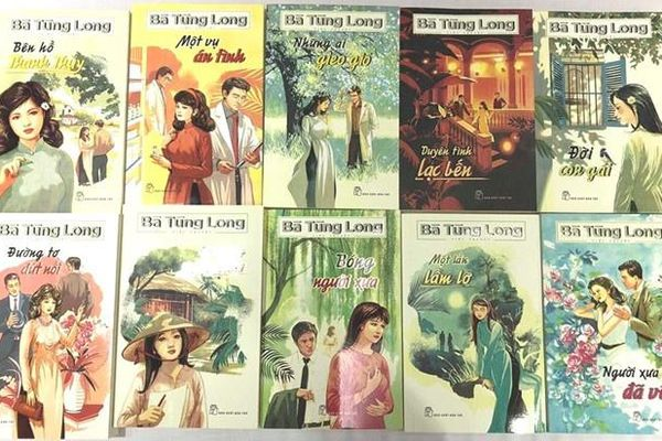 Ra mắt 10 tác phẩm của nữ danh sĩ Bà Tùng Long