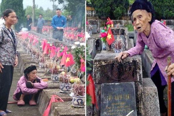 Hành trình mơ ước của người mẹ liệt sĩ 93 tuổi suốt 35 năm chưa một lần được viếng mộ con